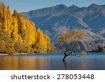 Lake Wanaka In Autumn Colors  ...