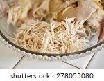 shredded chicken for the... | Shutterstock . vector #278055080
