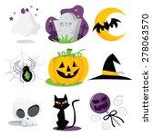 a cartoon vector illustration... | Shutterstock .eps vector #278063570