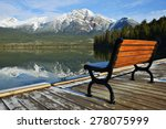 view of floating pier with... | Shutterstock . vector #278075999