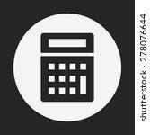 calculator icon | Shutterstock .eps vector #278076644