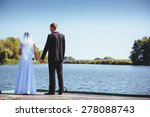 a wedding by the sea.  | Shutterstock . vector #278088743