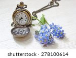 Old Pocket Watch With Forget M...
