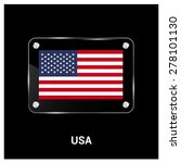 vector united state of america... | Shutterstock .eps vector #278101130