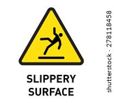 slippery surface | Shutterstock .eps vector #278118458