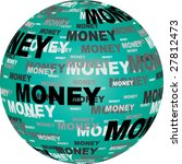 money text on ball vector... | Shutterstock .eps vector #27812473