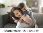 my daughter gives me so much...   Shutterstock . vector #278128649
