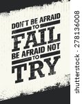 don't be afraid to fail be... | Shutterstock .eps vector #278136008