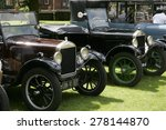 Classic Model T Ford Car At A...