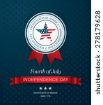 independence day 4 th july.... | Shutterstock .eps vector #278179628