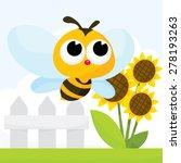 a cartoon vector illustration... | Shutterstock .eps vector #278193263