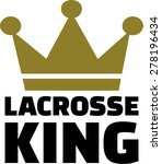 lacrosse crown | Shutterstock .eps vector #278196434