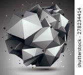 abstract asymmetric vector... | Shutterstock .eps vector #278234414