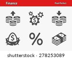 finance icons. professional ... | Shutterstock .eps vector #278253089