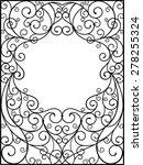 frame | Shutterstock .eps vector #278255324