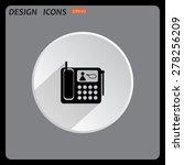 phone. icon. vector design | Shutterstock .eps vector #278256209