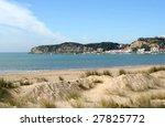 beach of sao martinho porto  ...   Shutterstock . vector #27825772