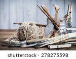 art and craft tools set. grunge ... | Shutterstock . vector #278275598