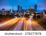 skyline of downtown atlanta ...   Shutterstock . vector #278277878