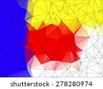 de stijl art abstract color ... | Shutterstock .eps vector #278280974