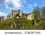 hohenschwangau castle in the... | Shutterstock . vector #278287190
