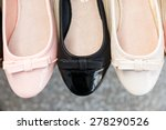 row of different coloured women'... | Shutterstock . vector #278290526