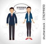business design over white...   Shutterstock .eps vector #278299850