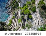 patch on a capri island in a... | Shutterstock . vector #278308919