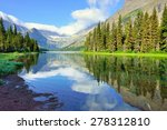 alpine lake josephine on the... | Shutterstock . vector #278312810
