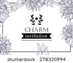 charm collection. vintage...   Shutterstock .eps vector #278320994