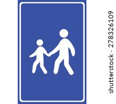 people walking icon great for... | Shutterstock .eps vector #278326109