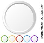 circles  shapes with empty... | Shutterstock .eps vector #278331629