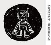 robot doodle | Shutterstock . vector #278336399