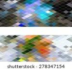 diamond seamless pattern ... | Shutterstock .eps vector #278347154