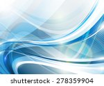 blue abstraction. | Shutterstock .eps vector #278359904