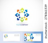 vector logo template of a... | Shutterstock .eps vector #278361539
