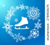 figure skating icon | Shutterstock .eps vector #278403674