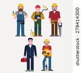 technician | Shutterstock .eps vector #278414300