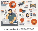 run out of ideas infographic... | Shutterstock .eps vector #278437046
