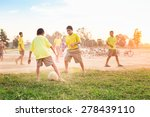 group of the kids  boys  are... | Shutterstock . vector #278439110