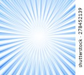 sky blue sunburst background.... | Shutterstock .eps vector #278452139