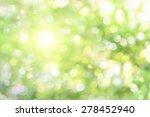 beautiful defocused highlights... | Shutterstock . vector #278452940