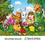 illustration  animals  children'... | Shutterstock . vector #278453984