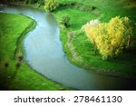 river in a beautiful green... | Shutterstock . vector #278461130