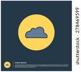 cloud icon  vector illustration....