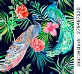 Beautiful Peacock Pattern....