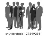business people | Shutterstock . vector #27849295