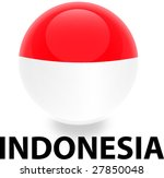Orb Indonesia Flag