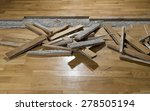 Damaged Parquet With Space For...
