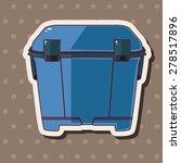 fishing box theme elements   Shutterstock .eps vector #278517896